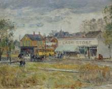 Кольцо троллейбуса, Оук-Парк, штат Иллинойс, 1893 - Хассам, Фредерик Чайлд