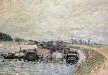 Пристань в Сен-Мамесе - Сислей, Альфред