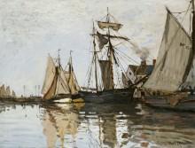 Порт в Онфлёре - Моне, Клод