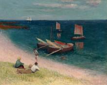 Ля Кот д`Армор, пляж, 1893 - Море, Анри