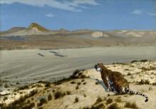 Настороженный тигр - Жером, Жан-Леон