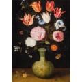 Натюрморт с цветами в вазе - Брейгель, Ян (младший)