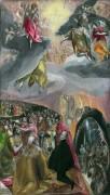 Поклонение имени Иисуса (Сон Филиппа II) - Греко, Эль