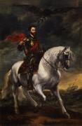 Конный портрет императора Карла V - Дейк, Антонис Ван