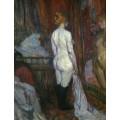 Женщина у зеркала - Тулуз-Лотрек, Анри де