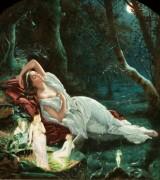 Титания, спящая в лесу в окружении своих фей - Симмонс, Джон