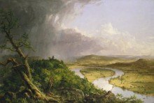 Вид с горы Холиок, Нортхэмптон - Коул, Томас