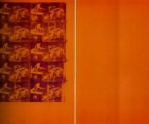 Оранжевая автокатастрофа 10 раз (L'Accident de voiture orange dix fois), 1963 - Уорхол, Энди
