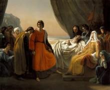 Смерть святого Людовика - Шеффер, Ари