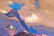 Тибет. У Брахмапутры - Рерих, Николай Константинович