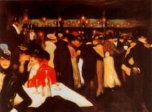 Ле Мулен де ла Галетт, 1900 - Пикассо, Пабло