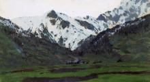 В Альпах весной. 1897 - Левитан, Исаак Ильич