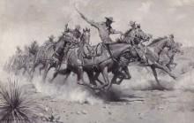Батарея полевой артиллерии США в действии - Дантон, Уильям Герберт