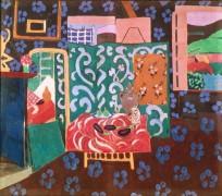 Интерьер комнаты с баклажанами - Матисс, Анри