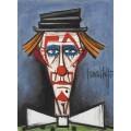 Клоун в шляпе - Бюффе, Бернар