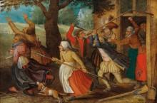 Драка крестьян - Брейгель, Питер (Младший)