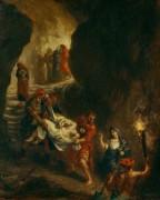 Погребение Христа - Делакруа, Эжен