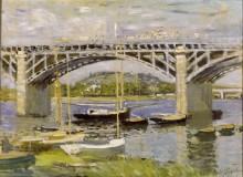 Мост в Аржантее - Моне, Клод