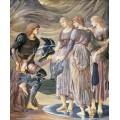Персей и морские нимфы - Бёрн-Джонс, Эдвард