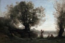 Орфей, оплакивающий Эвридику - Коро, Жан-Батист Камиль