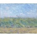 Пшеничное поле с жаворонком (Wheat Field with a Lark), 1887 - Гог, Винсент ван