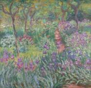 Сад ирисов в Живерни, 1899-1900 - Моне, Клод