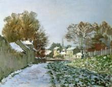Снег в Аржантее - Моне, Клод