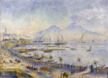 Неаполитанский залив - Ренуар, Пьер Огюст