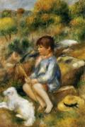 Мальчик у ручья - Ренуар, Пьер Огюст