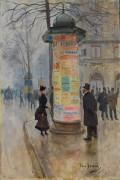 Сценка на парижском бульваре - Беро, Жан