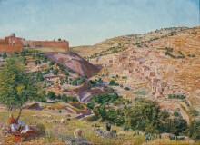 Иерусалим и долина Иосафата - Седдон, Томас
