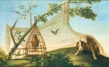 Охота на приманку, 1775 - Гойя, Франсиско Хосе де