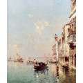 Большой канал Венеции - Унтербергер, Франц Ричард