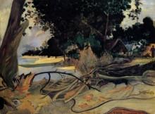 Большое дерево, 1892 - Гоген, Поль