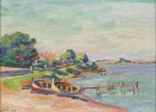 Южный пейзаж, Ле Брю, 1902 - Гийомен, Арманд