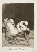 Капричос. Каприз №8. «Её похитили!» (Офорт) - Гойя, Франсиско Хосе де