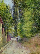 Пейзаж близ Лувесьена - Сислей, Альфред