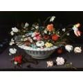 Цветы в фаянсовой вазе - Брейгель, Ян (младший)