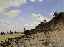 Берег моря - Моне, Клод