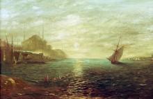 Лодки в Босфорском проливе у Константинополя -  Зим, Феликс