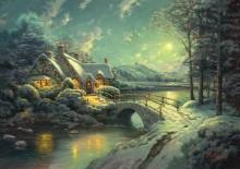 Лунная Рождественская ночь - Кинкейд, Томас