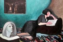 Читающая женщина - Истомин, Константин Николаевич