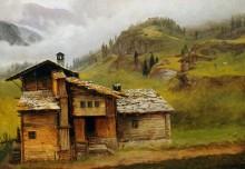 Домик в горах - Бирштадт, Альберт