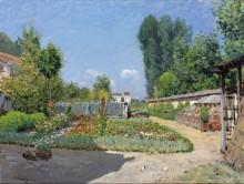 Сад - Сислей, Альфред