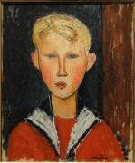Голубоглазый мальчик - Модильяни, Амадео