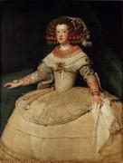 Портрет инфанты Марии Терезии - Веласкес, Диего