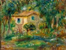 Пейзаж (Дом в Ле-Канне) - Ренуар, Пьер Огюст
