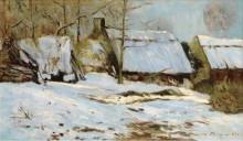 Хижины под снегом, 1891 - Мофра, Максим