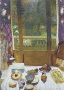 Вид из столовой на сад - Боннар, Пьер