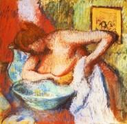 Туалет - Дега, Эдгар